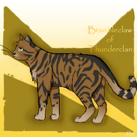 Brambleclaw of Thunderclan by CeruleanOasis