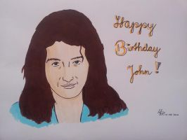 Happy 63rd B-Day John Deacon! by Music-Never-Dies