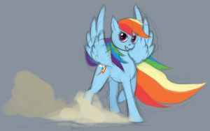 Rainbow Dash - Sketch by Dsurion