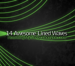 14 Awesome Lined Waves by Killa-Cary