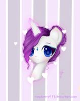 young Rarity by Raspberry811