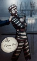 First prison day by iisjah