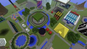 Top view of part of my world by JRDN762