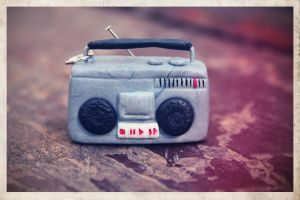 boombox jewelry by maryazzfire