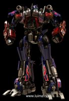 Optimus Prime version 3.0 by luima23