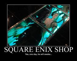 Sephiroth motivational poster by LadyxBloodyxInk