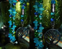 Earth Prayer Beads by druideye