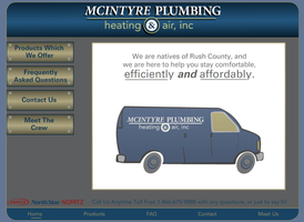 McIntyre Plumbing Website by Danger-Dom