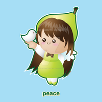 Fruit of the Spirit: Peace by kimchikawaii