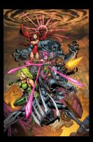 Exiles 1 Cover by Tonywash