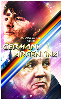 Fifa World Cup 2014 Final Poster 1 by newtonheath92