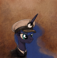 Aircraft Carrier Captain Luna by Hewison