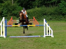 3ft3 Water Tray Unaffliated Showjumping by StarCrossedPsycho