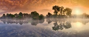 foggy scape by arbebuk