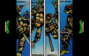 Teenage Mutant Ninja Turtles by FistfulOfYoshi