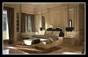 Classic Bedroom by r3ynard