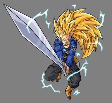 Future Trunks, SSJ3 by hsvhrt