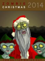 Zombie Christmas by MisanthropicRagDoll