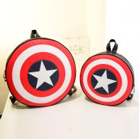 Captain America Shield Logo Backpack Bag by Jessical1
