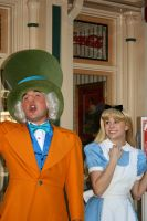 Alice and Hatter by DisneyLizzi