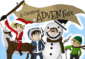 FAN ART: A christmas ADVENTure by daburulambo