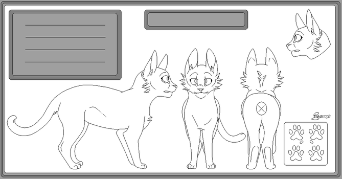 .FREE TO USE. Warrior Ref sheet by CHAR-C0AL