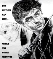 For Neither Can Live While the Other Survives. by RoseRain-92