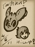 Hiccup and Toothless-iPad by sailor663