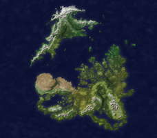 The Regnum Comission: Physical Geography by FeroceFV