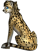.:Gift:.  LilyCheetah by Baileelou