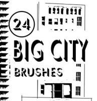 Big City Brush set by bozoartist