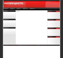 neraiesports - old gaming template by tyialo