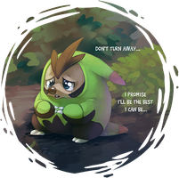 Still Team Chespin by Feyrah