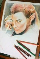 TAURIEL colored pencils by cLoELaLi11
