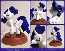 Fair Rairity Sculpture by ChrisWithATa