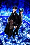 Ao no Exorcist:Blue flame by fullmetalflower