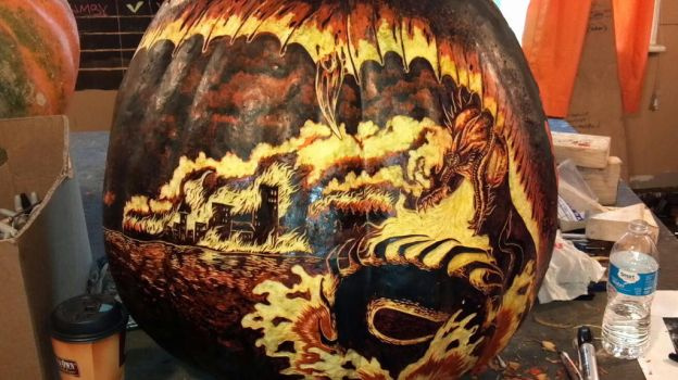 Smaug2 - Unlit Carve by snerk