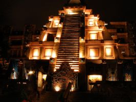 Epcot Mexico 25 by AreteStock