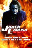 Heath Ledger Joker English Reborn by Ryuk124