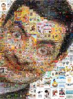 Mr Bean Mosaic by Cornejo-Sanchez