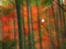 3D Fairy in bamboo forest by vicjusmar