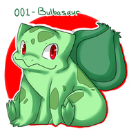 001- Bulbasaur by Seiishin