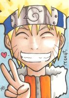 Naruto by IndyScribbable