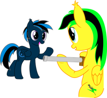 OC - Request #4 Blue Lambda and Camper Dash by Darknisfan1995