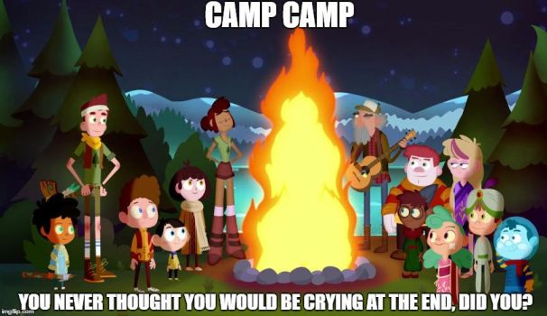 Camp Camp At the End by JokerCarnage5