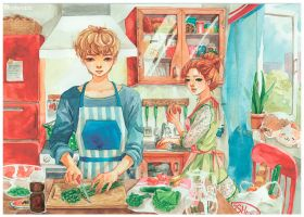 cooking by lanxingxxxx