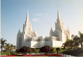 Californian Mormon Temple by DAReligiousForum