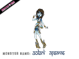 Monster High Contest: Aolani Apsaras by MetallicDynamite