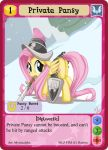 Private Pansy - MLPMinis profile card by MLPMinis