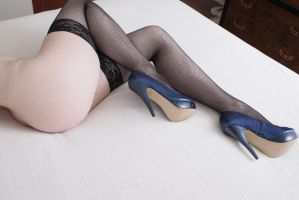 Thongs, Thigh Highs, and High Heels 4 by MordsithCara